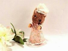 Beatrix Potter LADY MOUSE Stuffed Plush Animal Vintage 1985 WEden Toy