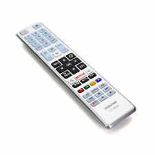 """Genuine Toshiba Remote Control For 40S3653DB 40"""" Full HD Freeview Smart LED TV"""