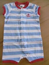 Sommerschlafanzug Spieler Gr. 62 Jungen 100% Baumwolle H&M NEU