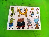 10 Rugrats Nickelodeon 90s anime fantasy stickers kawaii cartoon tommy angelica