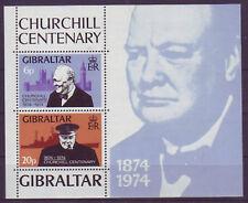Postfrische Briefmarken aus Gibraltar mit Geschichts-Motiv