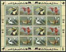 Timbres Oiseaux Nations Unies New York F 906/9 ** année 2003 lot 4159