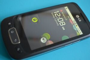 LG P500 - Black (Three) Mobile Phone