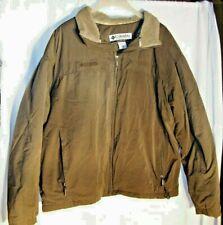 Columbia XXL Jacket Winter Fleece Lined Insulated Mens (!!Read discription!!)