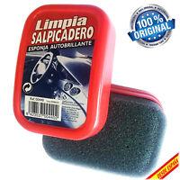 LIMPIA SALPICADEROS LIMPIASALPICADEROS ESPONJA BRILLO COCHE MANDOS TABLERO DY
