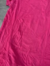 Exercise Top Shirt danskin now fitted Pink Fuschia Small New No Tags Stretch
