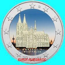 """ALLEMAGNE 2011  2 EUROS CC """" COLOGNE """" COULEUR/COLOR/ KLEUR/COLORIERT"""
