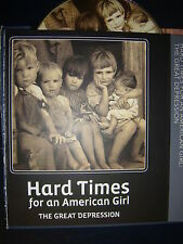 HARD TIMES FOR AN AMERICAN GIRL THE GREAT DEPRESSION EMMY DVD  HBO PETE SEEGER