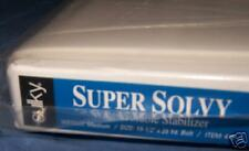 """SULKY SUPER SOLVY EMBROIDERY STABILIZER!20""""x25yds! BOLT"""