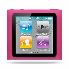 Silicone Skin Case for Nano 6th Gen - Hot Pink