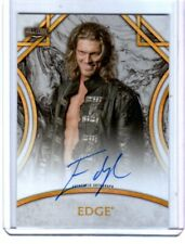WWE Edge 2018 Topps Legends Authentic Autograph Card SN 55 of 199
