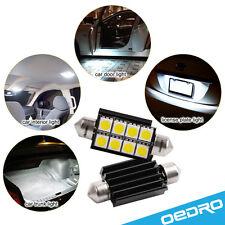 oEdRo 3x 42mm Canbus Festoon LED 8 SMD White Dome Light 211-2 212-2 Error Free