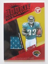 GREG JONES 2004 Topps ROOKIE Revolution Jersey Card #RR-GJ JACKSONVILLE JAGUARS