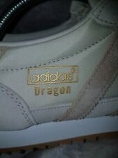 Adidas DRAGON casual trainers - BEIGE & CREAM - UK 11 - new with defects