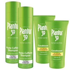 2 x Starter Pack - Plantur 39 Shampoo + Conditioner Bundle (For Thin Hair)