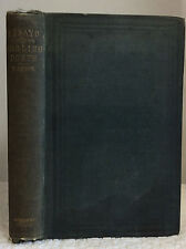 ESSAYS BIOGRAPHICAL AND CRITICAL: Chiefly on English Poets By David Masson- 1856