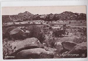 K 166 - DOA Lager Shinyanga, gelaufen 1913, sauberer Stempel, aber innerhalb D.