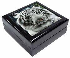 Siberian White Tiger Keepsake/Jewellery Box Christmas Gift, AT-13JB
