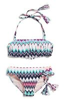 Youth Girls Roxy Dream Catcher Two-Piece Bandeau Swimsuit Multi Color 2