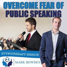 Overcome Fear of Public Speaking Hypnosis CD + FREE MP3 VERSION presentations