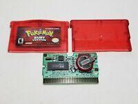 Pokemon Ruby (Nintendo Game Boy Advance, 2003) GBA Gameboy