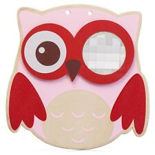 Wooden Owl Miragescope Kaleidoscopic View Tradtonal Toy Gift Novelty Childs