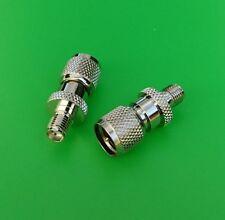 (1 PC) SMA Female to Mini-UHF Male Connector - USA Seller