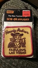 Vintage Las Vegas Nevada Souvenir Patch Rare 1975 BEST Applique NIP