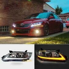 For TOYOTA Camry Headlights 2009-2011 Assembly Signal+ led DRL Projector