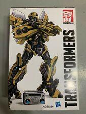 Transformers SDCC 2018 Bumblebee rétro rock garage avec Masterpiece cassettes NEUF