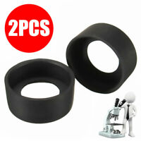 2Pcs Binocular Microscope Eyepiece Eye Piece 36mm Rubber Eye Cups Tool Kit ll2