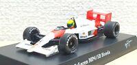 1/64 Kyosho F1 Ayrton Senna Collection HONDA MCLAREN MP4/5B #12 diecast model