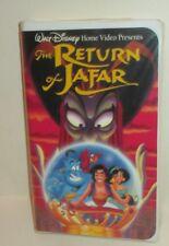 DISNEY ALADDIN THE RETURN OF JAFAR ANIMATED FILM VHS VIDEO CASSETTE CLAMSHELL