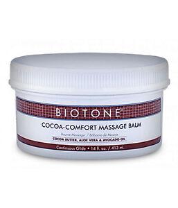 Biotone Cocoa Comfort Massage & Spa Therapy Balm - 14 Ounce Jar