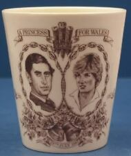 1981 Royal Doulton Princess Diana Wedding Beaker