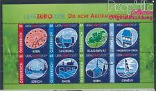Austria 2697-2704 Sheetlet used 2008 Football-european championship (8578143