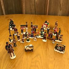 Lemax Mixed Lot of Holiday Village Christmas Figurines Figures