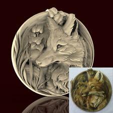 3d STL Model CNC AP003 (Plate Fox) Engraver Carving Machine Relief Artcam