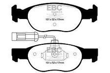 DP1059/2 EBC Ultima Pastillas de Freno Frontales para Alfa 145 146