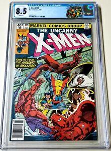 X-Men #129 CGC 8.5 1st APP Kitty Pryde, Emma Frost, Sebastian Shaw 1980 🔥🔥