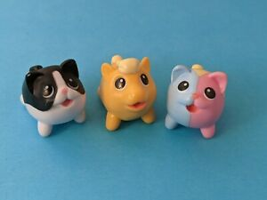Chubby Puppies & Friends Lot of 3 babies / minis