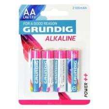 4 Pile Batterie stilo AA alcaline 2100 mAh Grundig