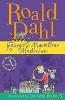 George's Marvellous Medicine by Roald Dahl, Good Used Book (Paperback) Fast & FR