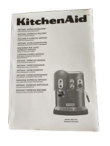 Kitchenaid Artisan Espresso Maker Instruction Manual