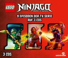 LEGO Ninjago Hörspielbox, 3 Audio-CD (Hörbuch) NEU