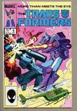 Transformers #6-1985 nm- 9.2 Alan Kupperberg Bob Budiansky 1st Marvel series