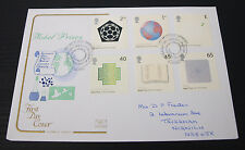 2nd Oct 2001 Centenary of Nobel Prizes First Day Cover SHS Postmark