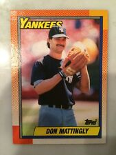 1990 Topps Don Mattingly New York Yankees #200 Baseball Card