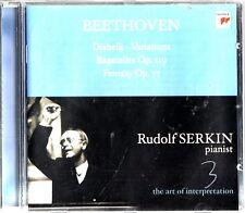BEETHOVEN -Diabelli -Variations -Bagatelles Op 119 CD -Rudolf Serkin, Piano