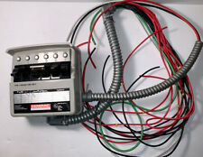 GENERAC MANUAL TRANSFER SWITCH #97774 125/250VAC 30A MAX OUT 6 OUTPUTS.